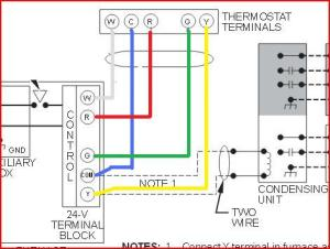 Replacing Carrier Thermostat 9601200322 with Honeywell