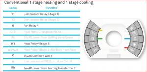 Nest with Conventional Cooling and Aux Heat Strip
