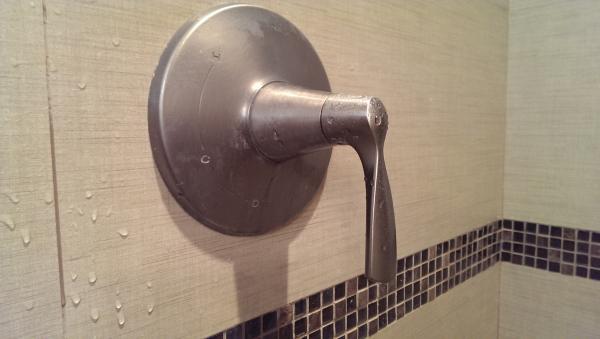 help removing kohler shower handle