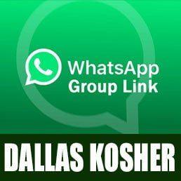 Join the Dallas Kosher WhatsApp Kashrus Alerts