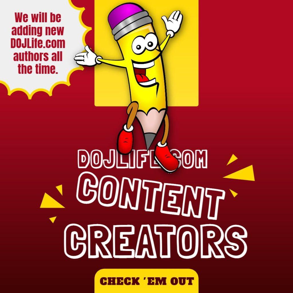 DOJLife.com Content Creators 1