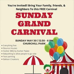 Sunday, Get-Out-the-Vote Grand Carnival