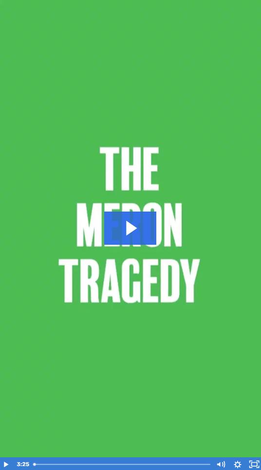 Watch Video: The Meron Tragedy 1
