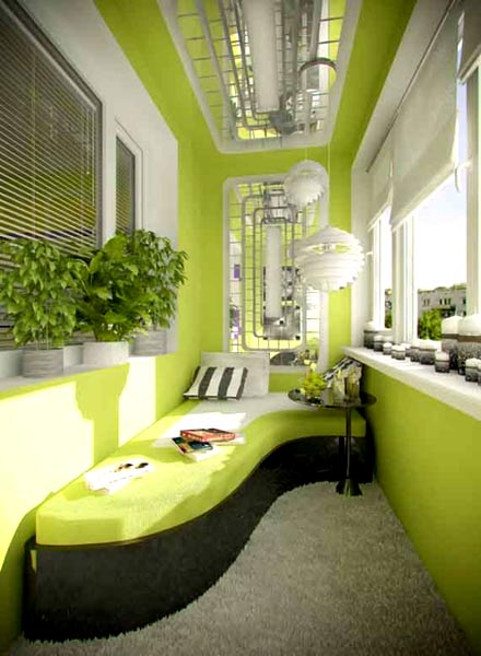 Several Ideas For Beautiful Terrace And Balcony