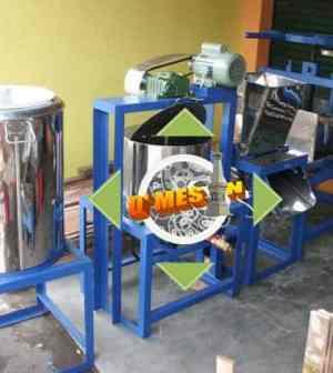 mesin penggiling tahu pisah ampas : no residu, no bau busuk !!