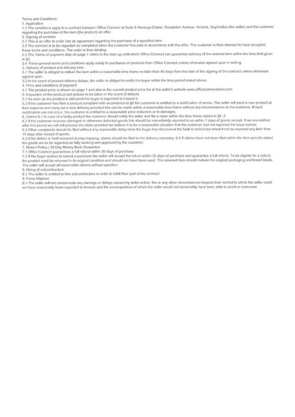 Seite 2 der Fakerechnung
