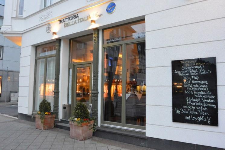 Die Trattoria Bella Italia da Giuseppe in Heiligenhaus, Hauptstraße 142