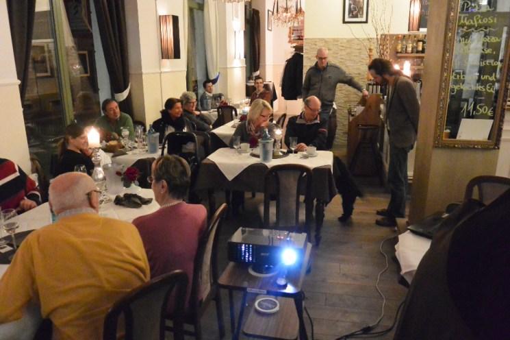 Das Highlight des Abends: Die Trüffelsuche mit Hund Ricciolo