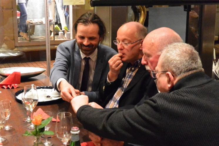 Mario Moscariello genießt den direkten Kontakt zu den Gästen