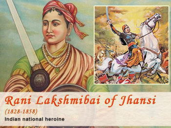 Hindi story on Jhansi ki rani lakshmi bai