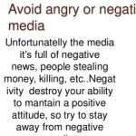 Protect yourself from negative News Hindi Article on news