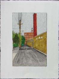 Alley with Chimney