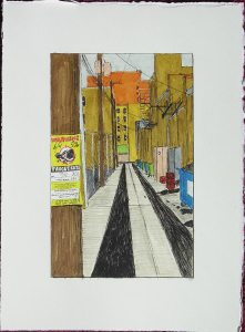 Alley with Target: Rats