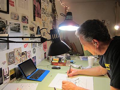William Dolan at Work