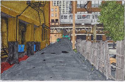 Alley Drawings
