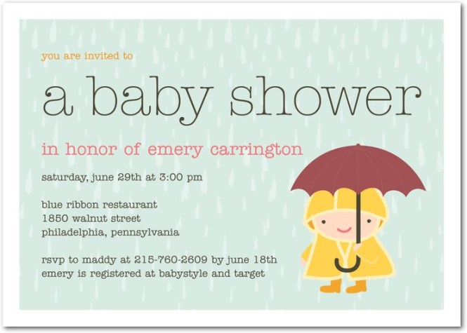 What S A Baby Shower Invites