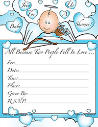 Printable Baby Shower Invitation For