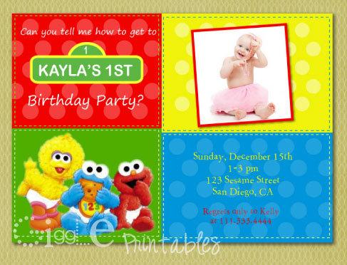 wording for 1st birthday invitation