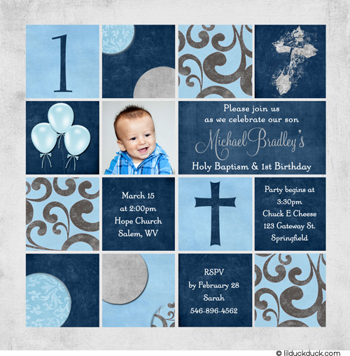 Invitation Card Christening