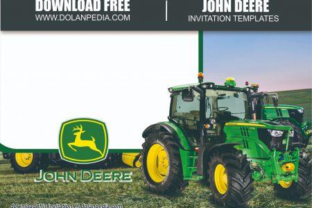 free printable john deere invitation
