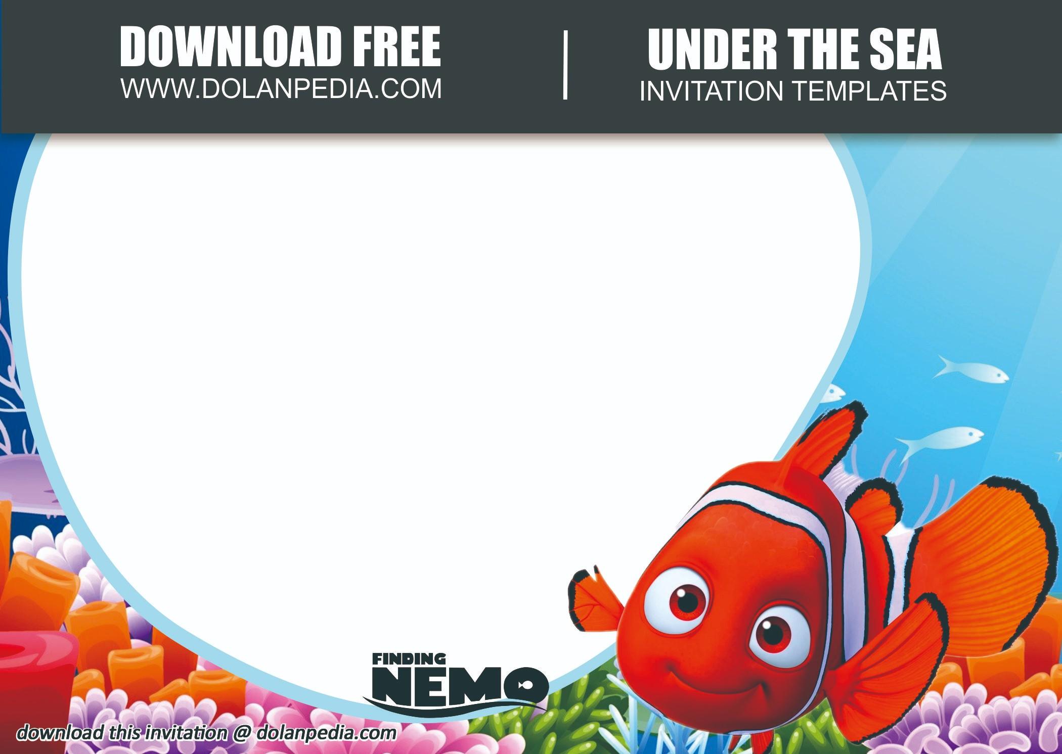 free printable finding nemo birthday