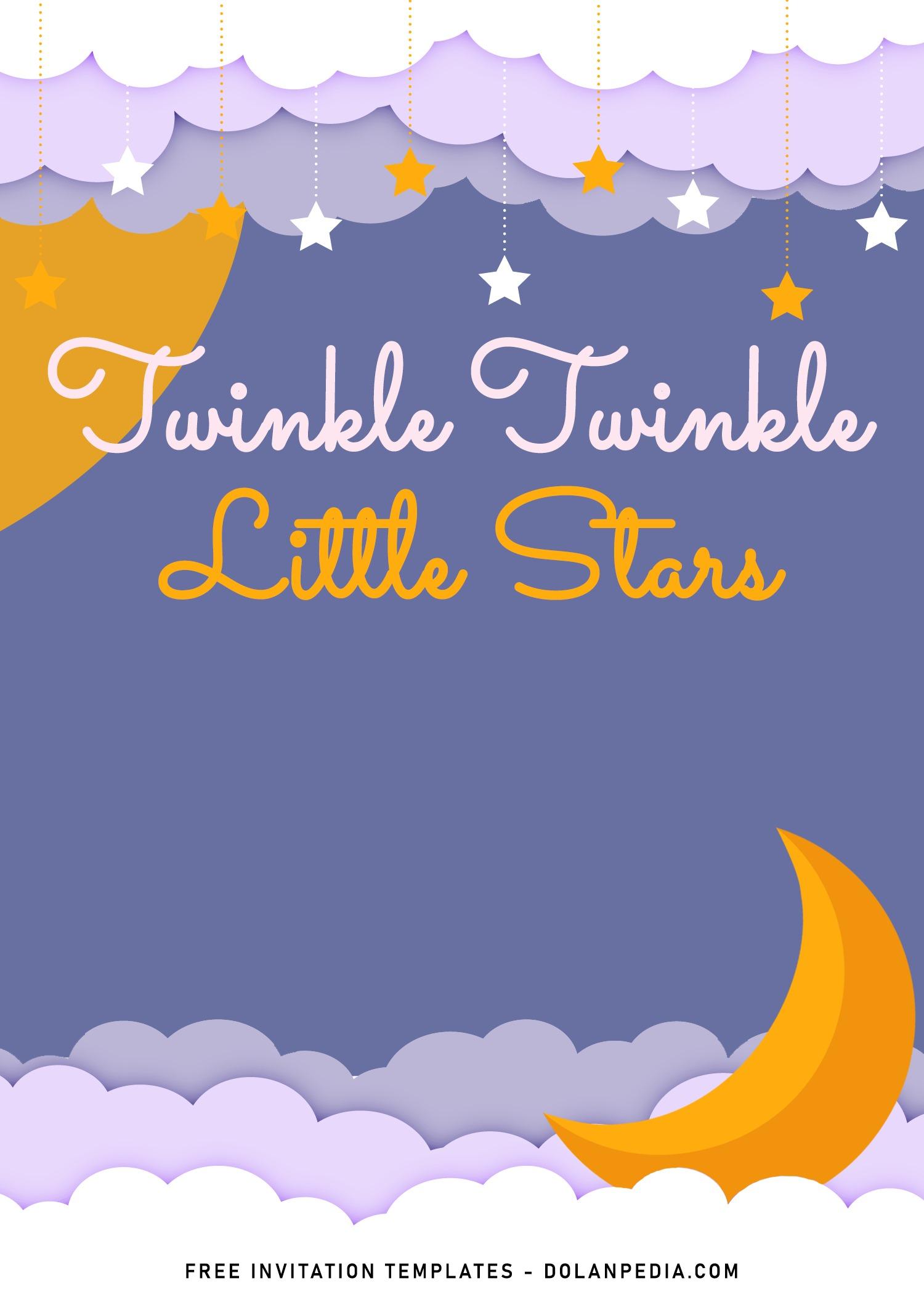 10 twinkle little stars birthday