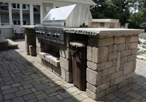 Outdoor Kitchen - Landscaping and Landscape Design for ... on Backyard Patio Grill Island id=94731