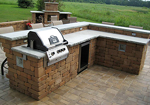 Outdoor Kitchen - Landscaping and Landscape Design for ... on Outdoor Grill Patio id=76477