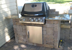 Outdoor Kitchen - Landscaping and Landscape Design for ... on Outdoor Grill Patio id=61441