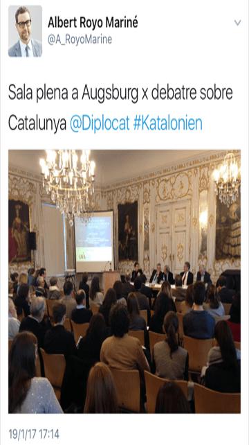 """Sr Marcos de Quinto: mire cómo el Diplocat de Sol Daurella """"es bueno para España"""""""