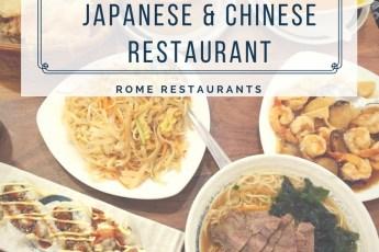 Tin House Japanese Chinese Restaurant