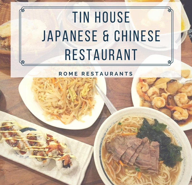 Tin House Japanese Chinese Restaurant