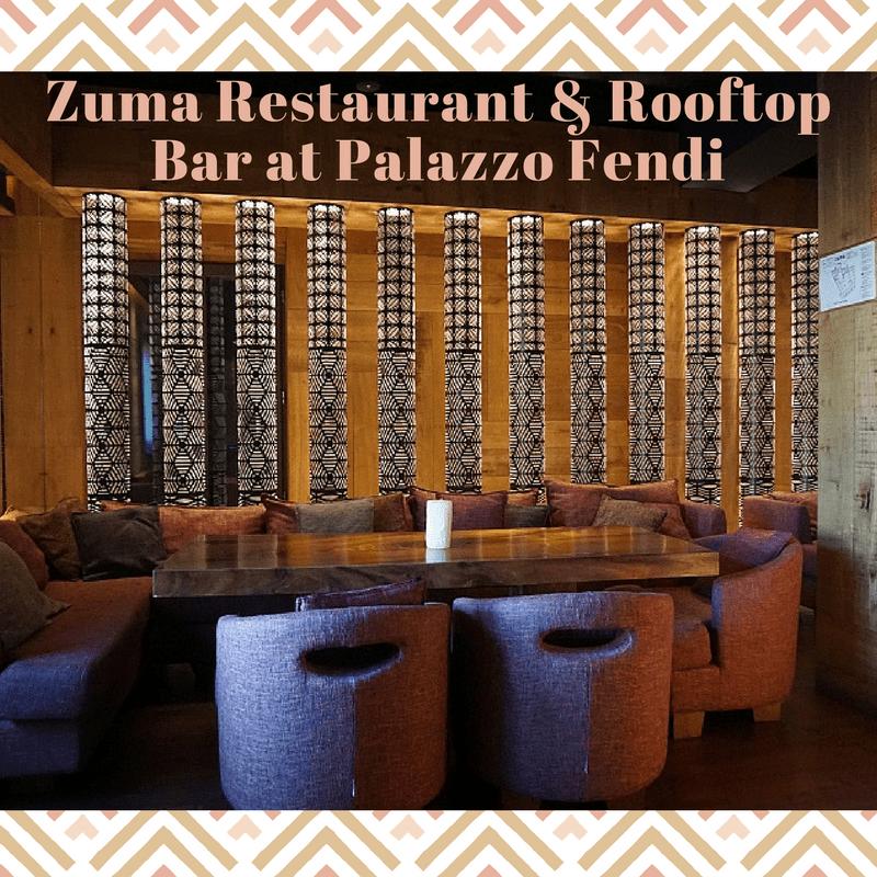 Zuma Fendi S Fashionable Japanese Restaurant And Rooftop Bar