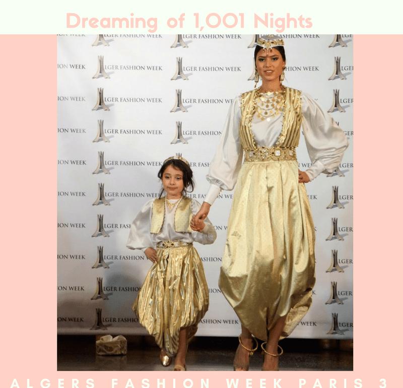 Dreaming of 1,001 Nights: Alger Fashion Week Paris 3