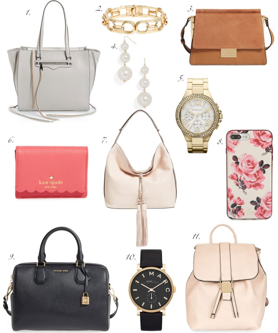 nordstrom half yearly sale handbags accesories