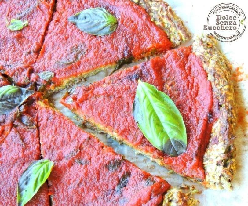 Pizza con le Zucchine (Senza Farina, Senza Lievito, Senza Glutine)