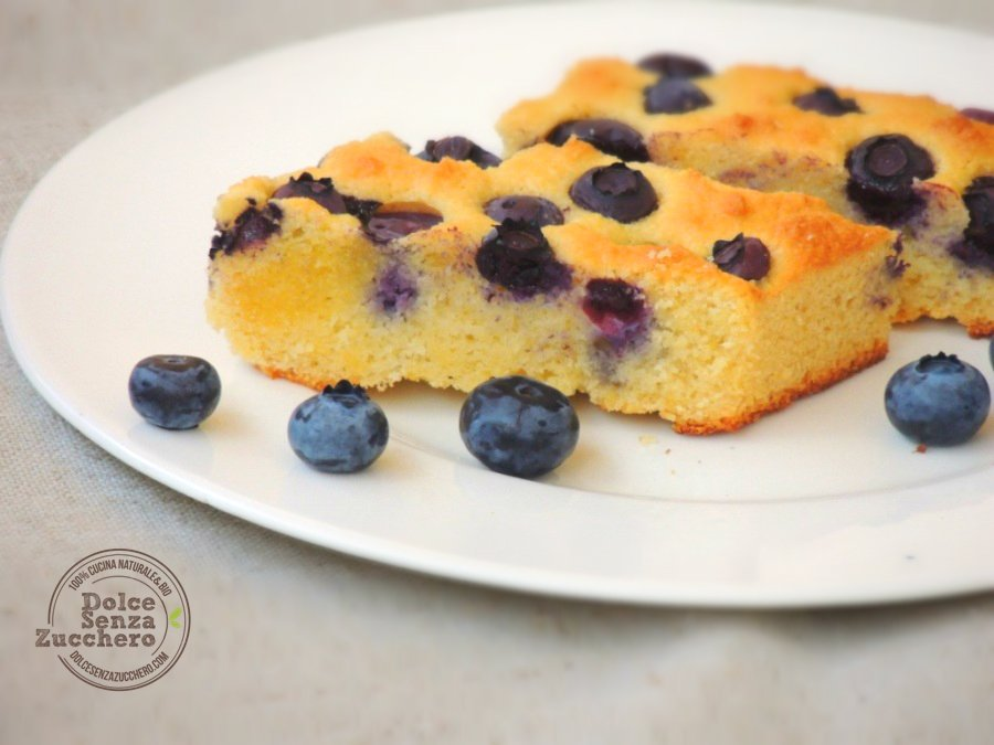 Torta di Mirtilli e Mandorle (6)