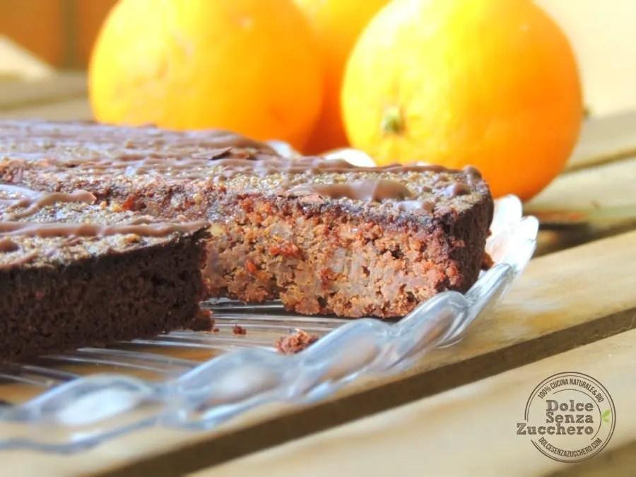 Torta all'Arancia con Glassa (Senza Glutine)