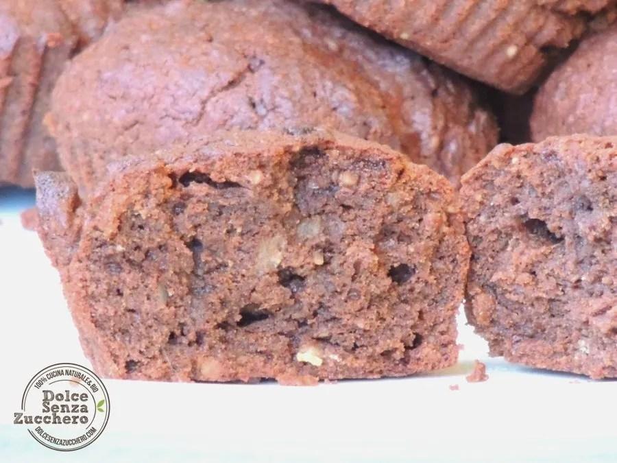 Muffin al Cioccolato Senza Farina (5)