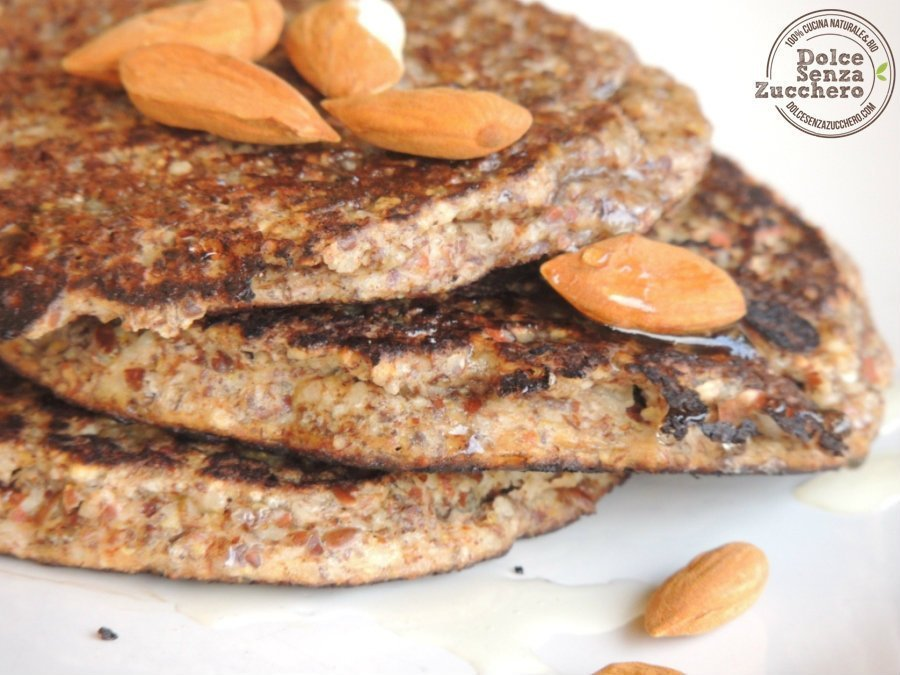 Pancakes di Farina di Mandorle (Senza Glutine) (4)