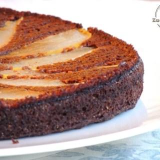 Torta carrube e pere (5)