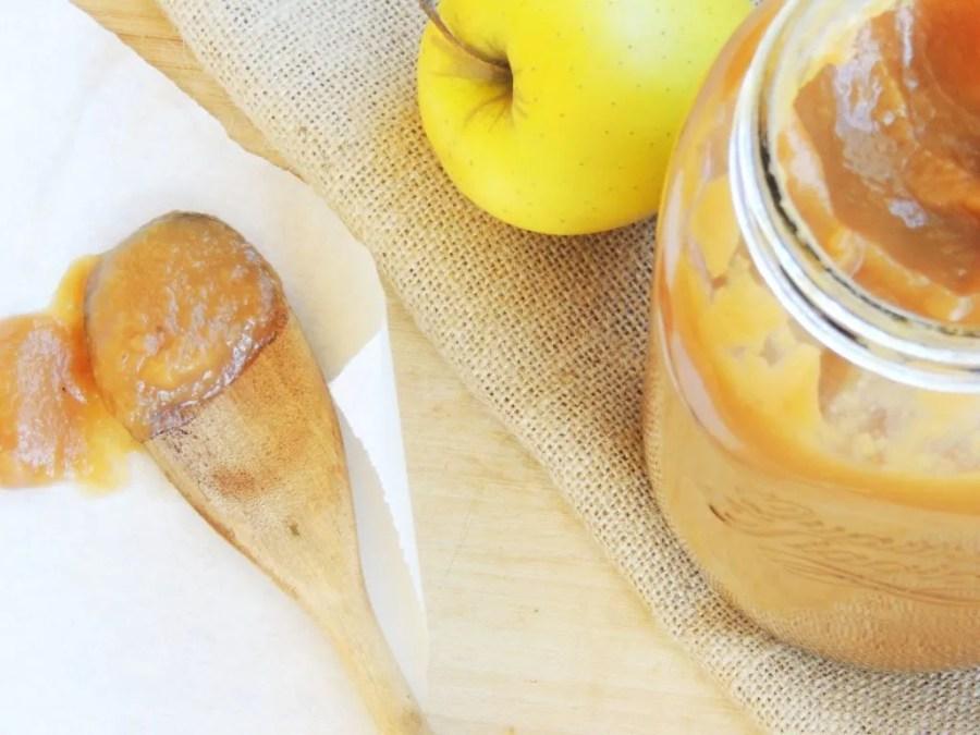 Apple Butter_Burro di Mele_Dolce Senza Zucchero (1)
