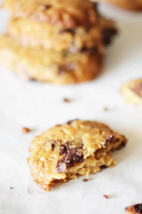 Biscotti al Burro di arachidi con gocce di cioccolato (20)