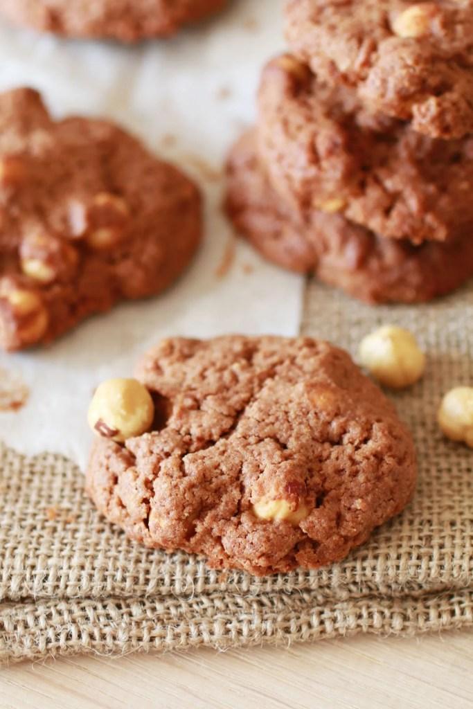 Biscotti con Nocciole e Cacao Senza Zucchero Raffinato