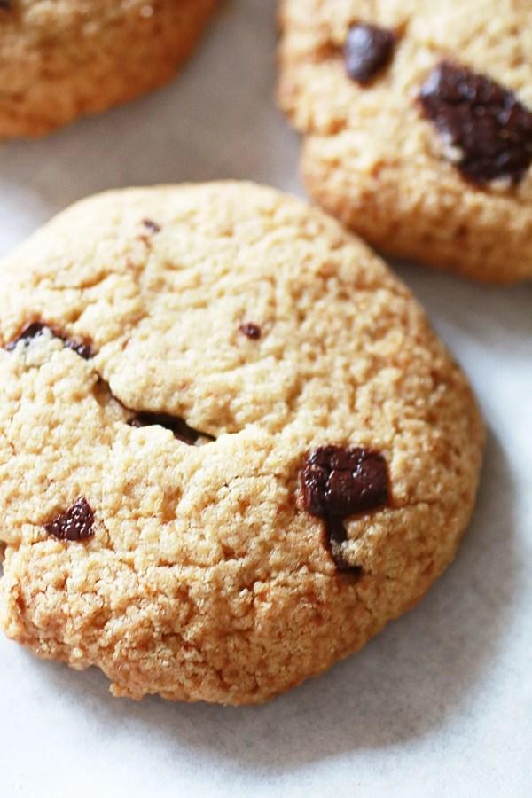 Biscotti con Gocce di Cioccolato e Farina di Avena6