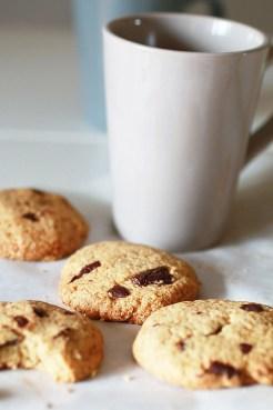 Biscotti con Gocce di Cioccolato e Farina di Avena7