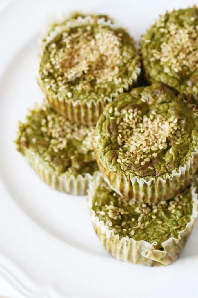 Muffin Salati alle Verdure Verdi Senza Glutine (1)