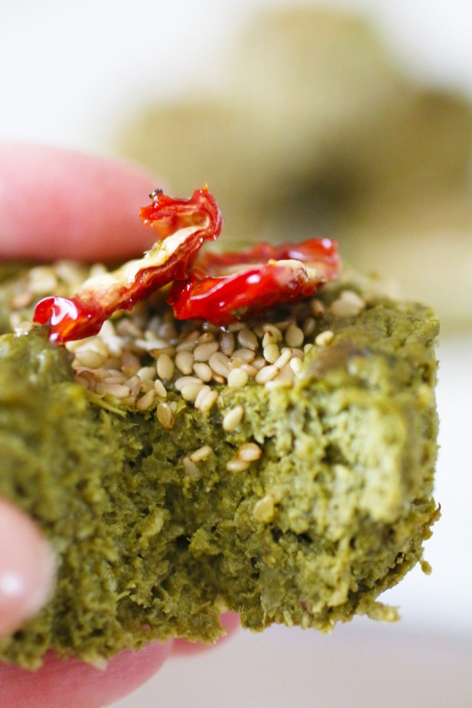 Muffin Salati alle Verdure Verdi Senza Glutine (14)