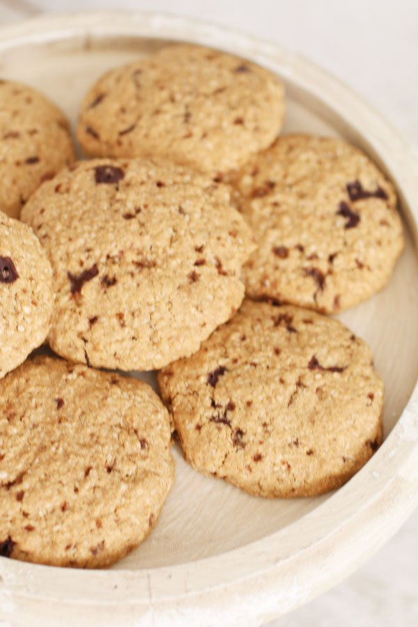 Biscotti con Farina di Sorgo e Cocco Senza Zucchero, Glutine e Latticini