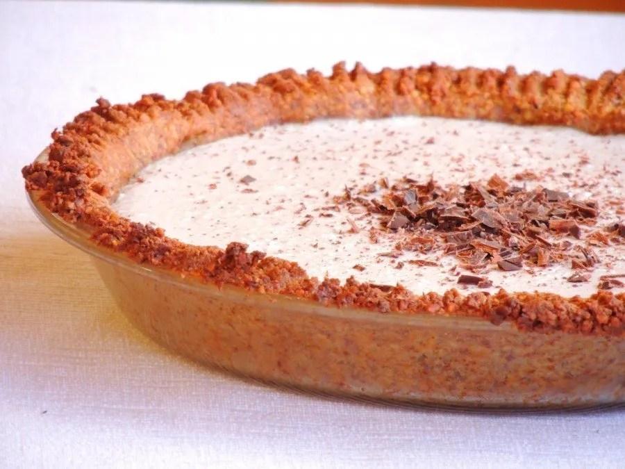 Crostata con Crema Vegan al Cocco